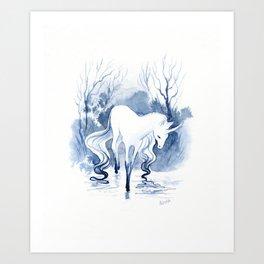 Inner pain Art Print