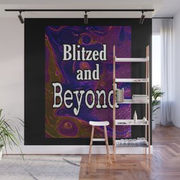 Blitzed And Beyond Party Sparkly Art Wall Mural