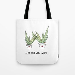 Aloe You Very Much Tote Bag