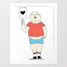 Party Boy   Art Print