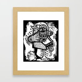 Blind worship - the print Framed Art Print
