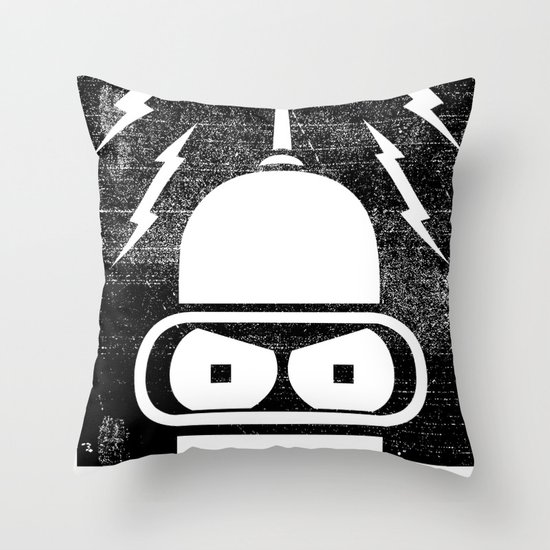 The Future Is Watching Throw Pillow