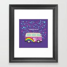 Hippie Land Framed Art Print