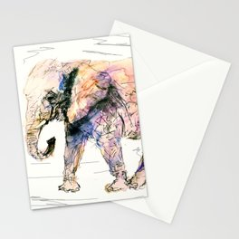 elephant queen - the whole truth Stationery Cards