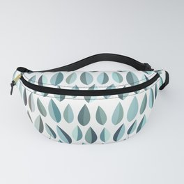 Mid-Century Modern Leaf pattern Collection 3 Fanny Pack