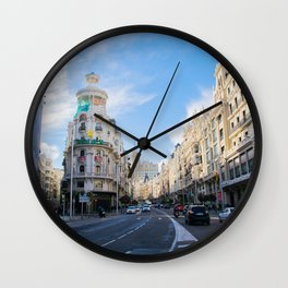 Gran Via Madrid Wall Clock