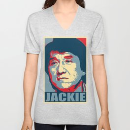 Jackie Chan Hope Unisex V-Neck