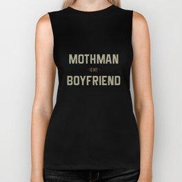 Mothman is my Boyfriend Biker Tank