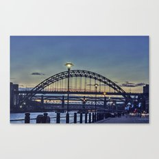 Quayside Sunset Canvas Print