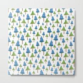 """""""Mushroom forest"""" Metal Print"""