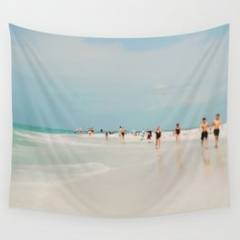 White Sand Wall Tapestry