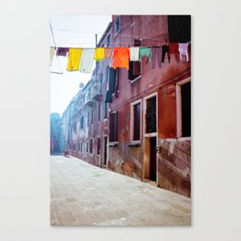 Clothesline Canvas Print