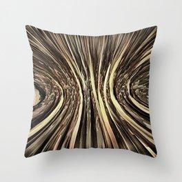 Falling Toward Earth Throw Pillow