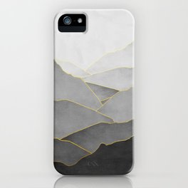 Minimal Landscape 01 iPhone Case
