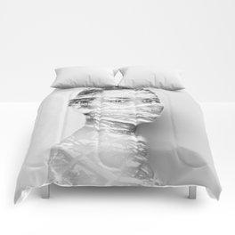 Snowy days Comforters
