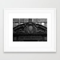 theater Framed Art Prints featuring Theater by memoryradio