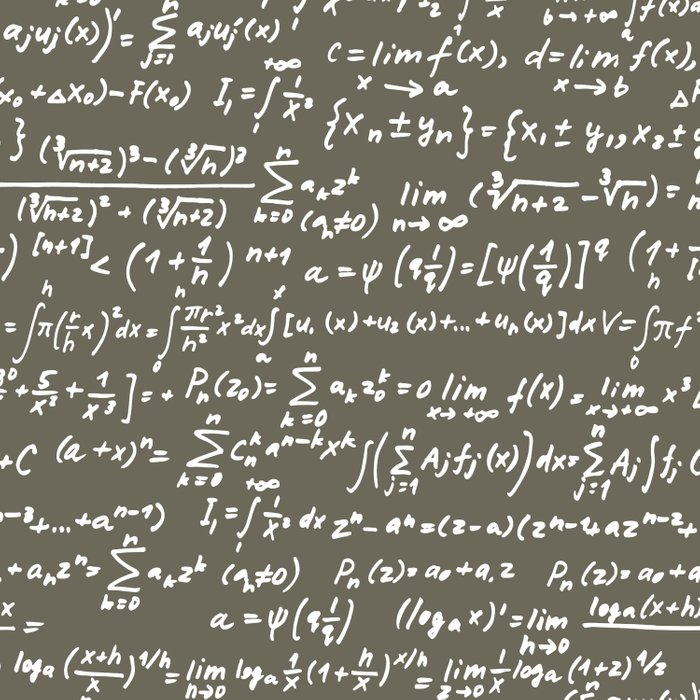 Math Duvet Cover