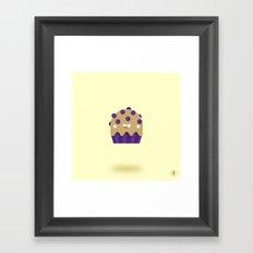 Boo-berry Muffin Framed Art Print