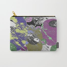 Gather Together - Abstract, pastel coloured, textured, artwork Carry-All Pouch