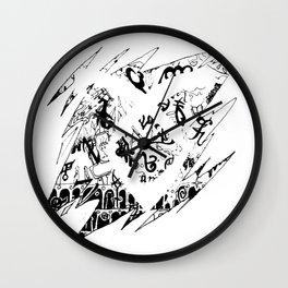 The Mortal Instruments Wall Clock