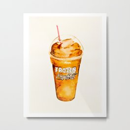Coke Slush Metal Print