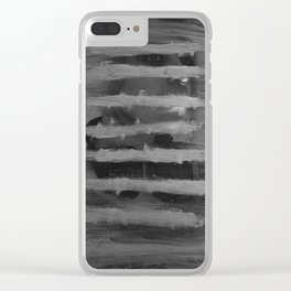 Awake In A Delicately Crafted Hell Clear iPhone Case