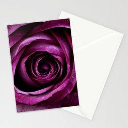 Aubergine Rose Stationery Cards