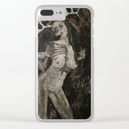 Wendigirl Clear iPhone Case