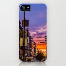 Farragut North Sunset iPhone Case