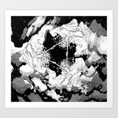 Kaleidoscope Sky Art Print