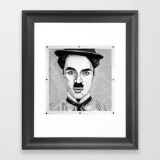 Charles Spencer Chaplin Framed Art Print
