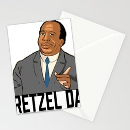 Pretzel day Stanley Stationery Cards