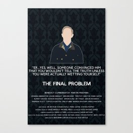 The Final Problem - John Watson Canvas Print