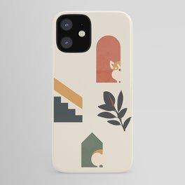 Hide and Seek Corgi iPhone Case