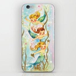 Mermaids Pastel Sparkles iPhone Skin
