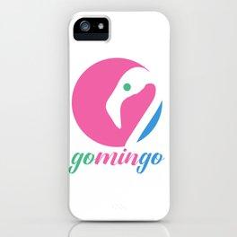 Gomingo Circle Logo iPhone Case