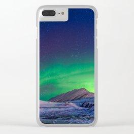 Clear Aurora Skies Clear iPhone Case
