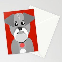 Miniature Schnauzer Stationery Cards