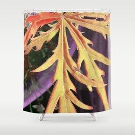 Leaf Study 1 Shower Curtain