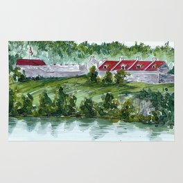 Fort Ticonderoga Rug