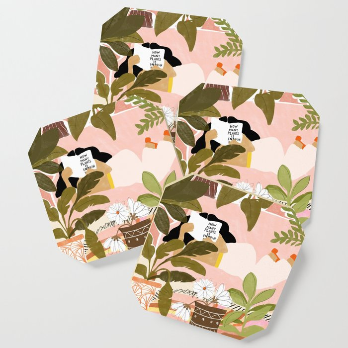 How Many Plants Is Enough Plants? Coaster
