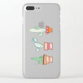 Cactus 2 Clear iPhone Case