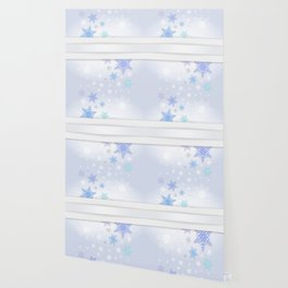 Snowflake background Wallpaper