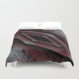 Geometric abstract 2016 / 005 Duvet Cover
