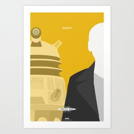 """Doctor Who 50th Anniversary Posters - """"The 9th Doctor"""" Art Print"""