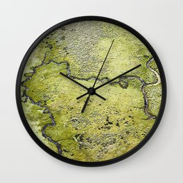 """Terra Firma"" 3/13 (2013) Wall Clock"