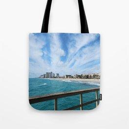 Pier View Tote Bag