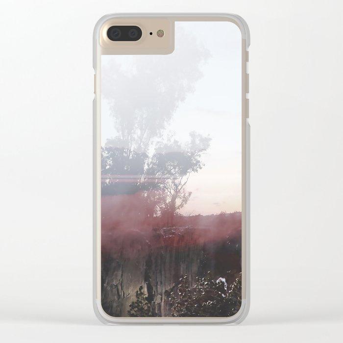Summer Dream Clear iPhone Case