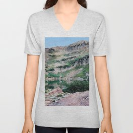 Cecret Lake Unisex V-Neck