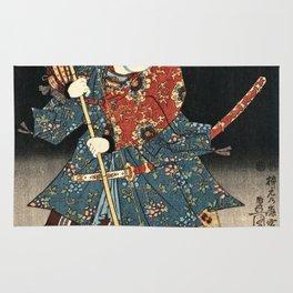 Utagawa Kunisada - An Actor In The Role Of Narutonomae Rug